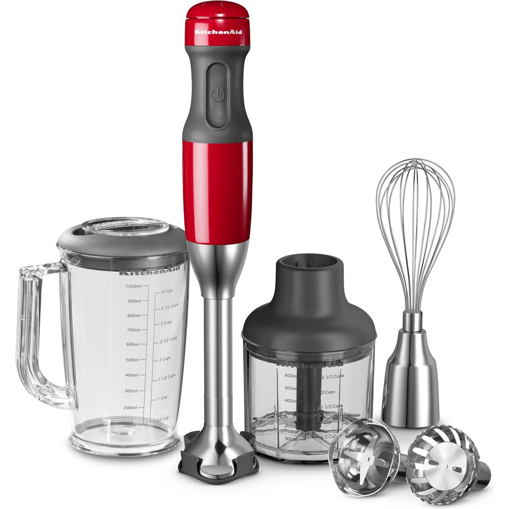 KITCHENAID 5 SPEEDS HAND BLENDER - EMPIRE RED - Mabrook Hotel Supplies