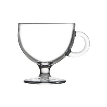 PASABACHE VIARO GLASS CUP WITH HANDLE - Mabrook Hotel Supplies