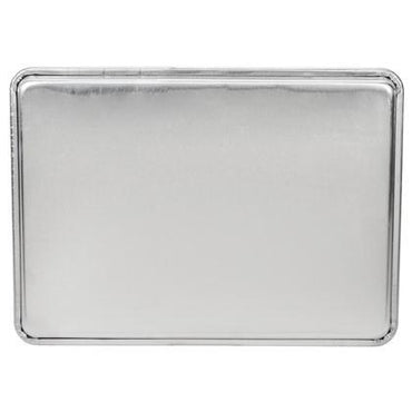 """ALUMINIUM BAKING TRAY, SIZE:46X66x2.5 CM DEEP."" - Mabrook Hotel Supplies"
