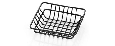 SQUARE BREAD BASKET,DIM:20X20X5 CM - Mabrook Hotel Supplies