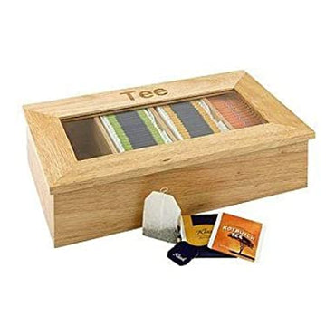 APS TEA BOX - NATURE WOOD - Mabrook Hotel Supplies