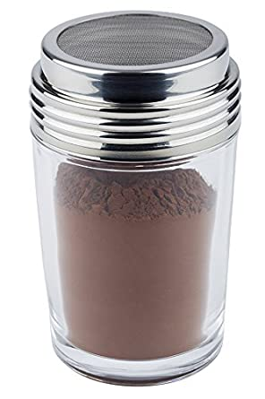APS GLASS MESH TOP SHAKER - 200 ML - Mabrook Hotel Supplies