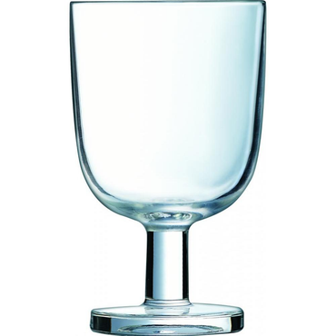 """TEMPERED RESTO STEMGLASS 25"""