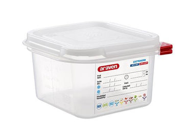 Airtight Container Polypropylene GN 1/6 - Mabrook Hotel Supplies