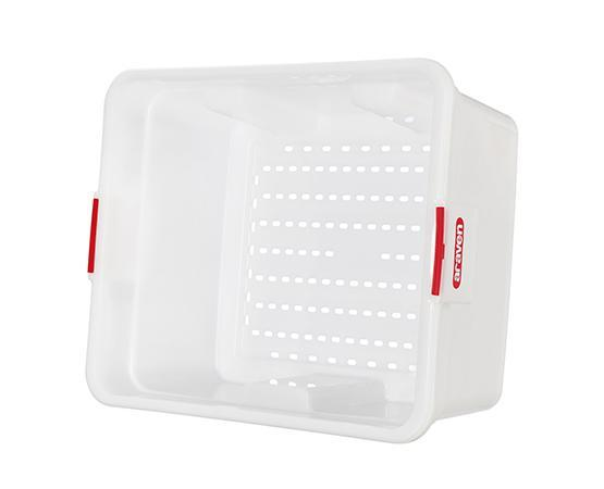 GN 2/1 H.300 MM./11 ™?ƒ?? 70 L./18 GAL. PERFORATED HDPE FOOD BOX - Mabrook Hotel Supplies