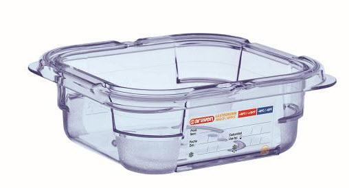 Food Box airtight containers BPA Free GN 1/6, Capacity: 1L - Mabrook Hotel Supplies