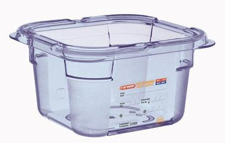 Food Box airtight containers BPA Free GN 1/6, Capacity: 1.5L - Mabrook Hotel Supplies