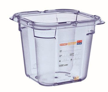Food Box airtight containers BPA Free GN 1/6, Capacity: 2.15L - Mabrook Hotel Supplies
