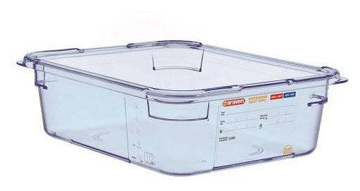 Food Box airtight containers BPA Free GN 1/2  Capacity: 5.95L