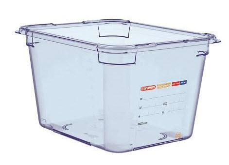 Food Box airtight containers BPA Free GN 1/2, Cap: 11.35 ltr - Mabrook Hotel Supplies