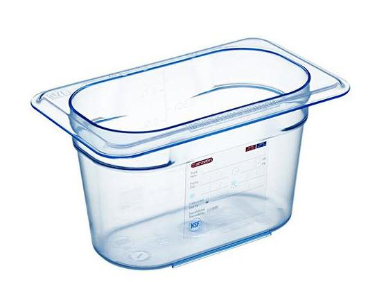 Food Box airtight containers BPA Free GN 1/9, Capacity: 0.9L - Mabrook Hotel Supplies