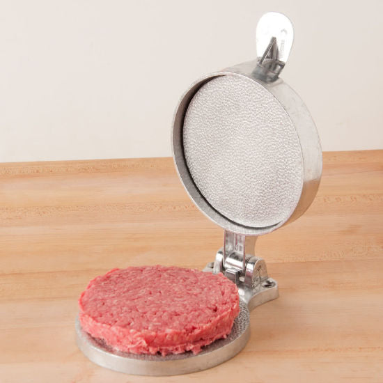 ALUMINUM ADJUSTABLE HAMBURGER PRESS - Mabrook Hotel Supplies