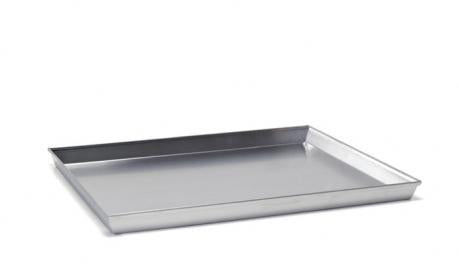 RECTANGULAR BAKING SHEET WITH TAPARED SIDES SIZE 60X40X3 CM - Mabrook Hotel Supplies