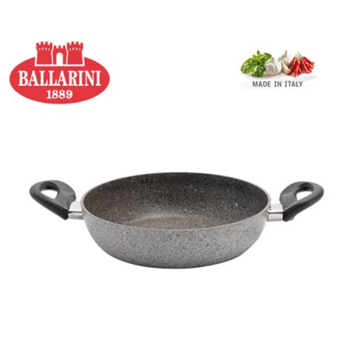 BALLARINI CORTINA GRANITIUM DOUBLE HANDLE FRYING PAN - 24 CM