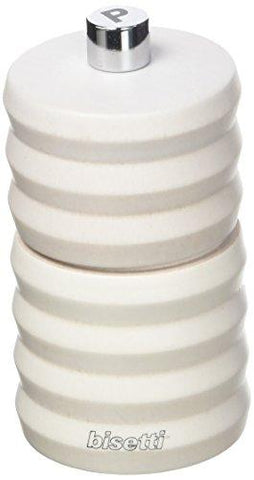PEPPER MILL WHITE WOOD FINISHING 10 CM