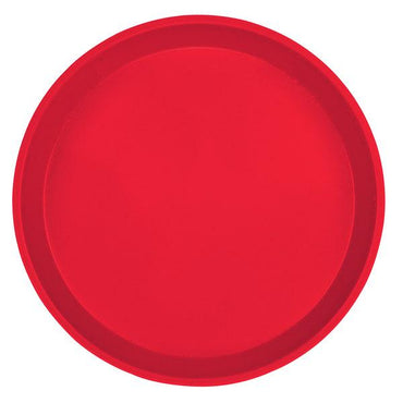 """ROUND CAMTRAY 10 inches, COLOUR: RED"""