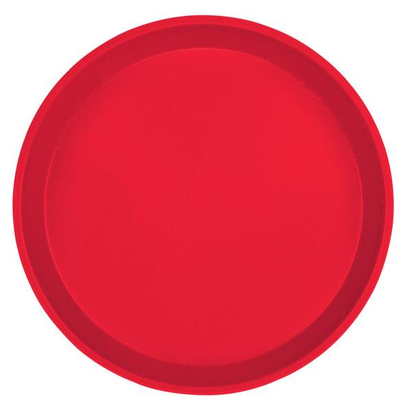 """ROUND CAMTRAY 10 inches, COLOUR: RED"" - Mabrook Hotel Supplies"