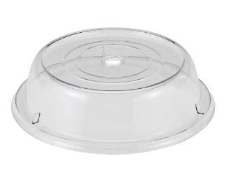 "Cambro 1007CW152 10 5/8"" Round Camwear Plate Cover - Clear - Mabrook Hotel Supplies"