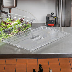 Cambro, GN 1/1 Polycarbonate Lid and Drain Shelf , CLEAR - Mabrook Hotel Supplies