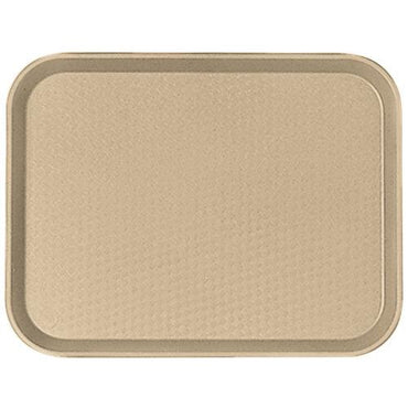 """FAST FOOD TRAY SIZE:30X41 CM, COLOR: DESERT TAN."""