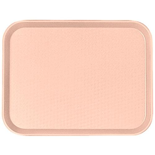 CAMBRO FAST FOOD TRAY SIZE:30X41 CM, COLOR LIGHT PEACH - Mabrook Hotel Supplies