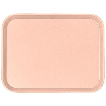 """FAST FOOD TRAY SIZE:30X41 CM, COLOR LIGHT PEACH."""