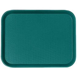 CAMBRO FAST FOOD TRAY SIZE:30X41 CM, COLOR: TEAL - Mabrook Hotel Supplies