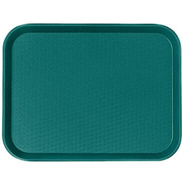 """FAST FOOD TRAY SIZE:30X41 CM, COLOR: TEAL."""