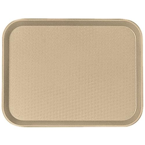 CAMBRO TRAY FAST FOOD 14X18, COLOR: DESERT TAN