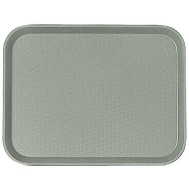 FAST FOOD TRAY 14*18 - PEARL GREY