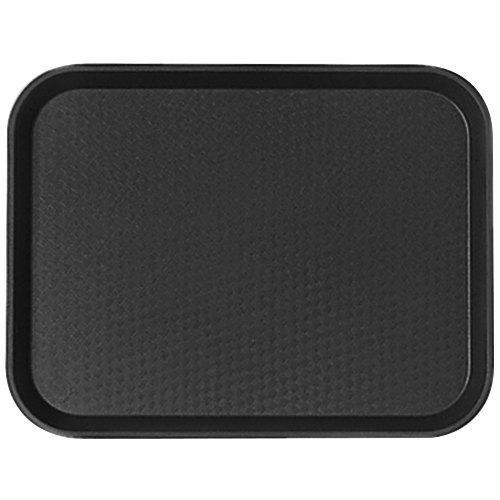 FAST FOOD TRAY 14*18 - BLACK