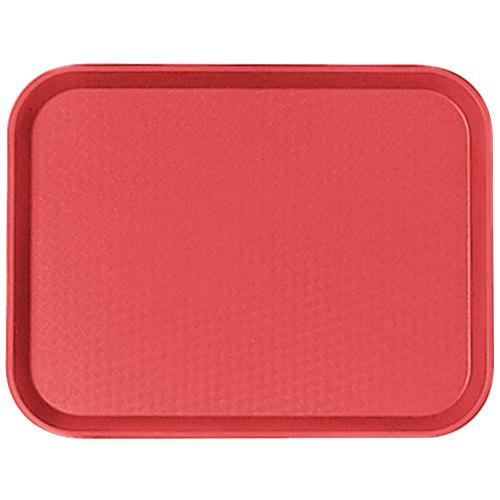CAMBRO FAST FOOD TRAY SIZE:14X18 CM, COLOR RED - Mabrook Hotel Supplies