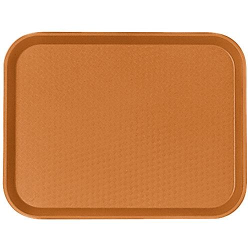 CAMBRO TRAY FAST FOOD 14X18, COLOR: ORANGE - Mabrook Hotel Supplies