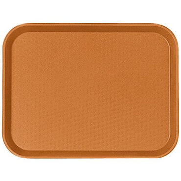 """TRAY FAST FOOD 14X18, COLOR: ORANGE."""