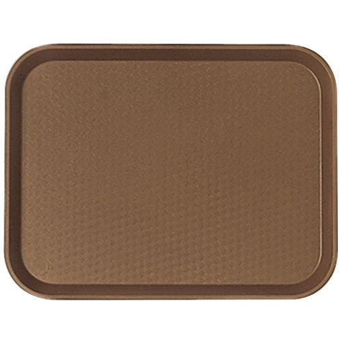 TRAY FAST FOOD 14X18-BROWN