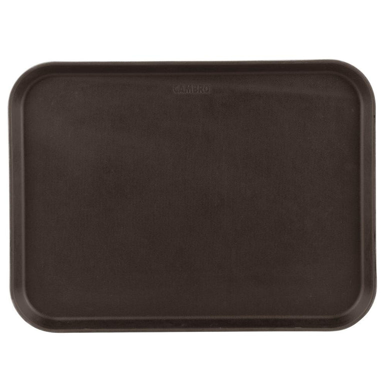 RECTANGULAR NON-SKID CAMTRAY SIZE:38X51.5 CM BUILT WITH THIC, TAVERN TAN