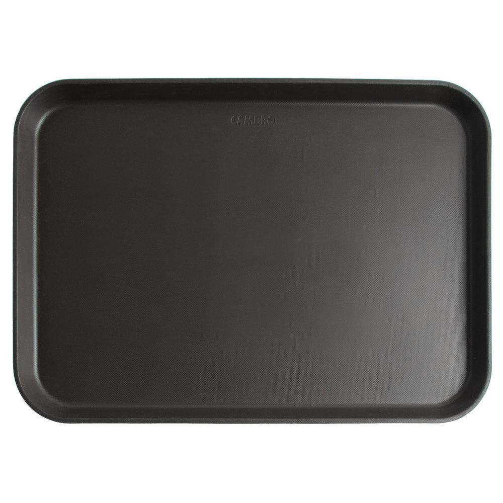 TRAY CAMTREAD 16X22 REC-BLACK - Mabrook Hotel Supplies