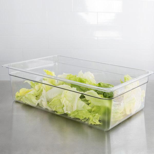 Cambro, GN 1/1 Polycarbonate food pan, CLEAR - Mabrook Hotel Supplies