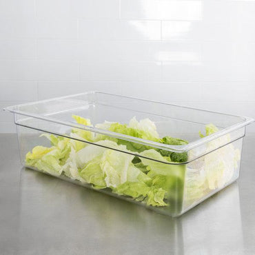 Cambro, GN 1/1 Polycarbonate food pan, CLEAR