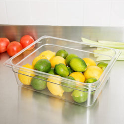 Cambro, GN 1/2 Polycarbonate food pan, CLEAR - Mabrook Hotel Supplies