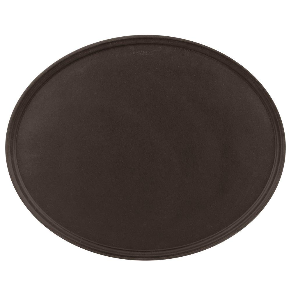 TAN OVAL TAVERN TRAY SIZE: 23''x29''