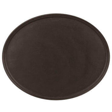 TAN OVAL TAVERN TRAY SIZE: 23''x29'' - Mabrook Hotel Supplies