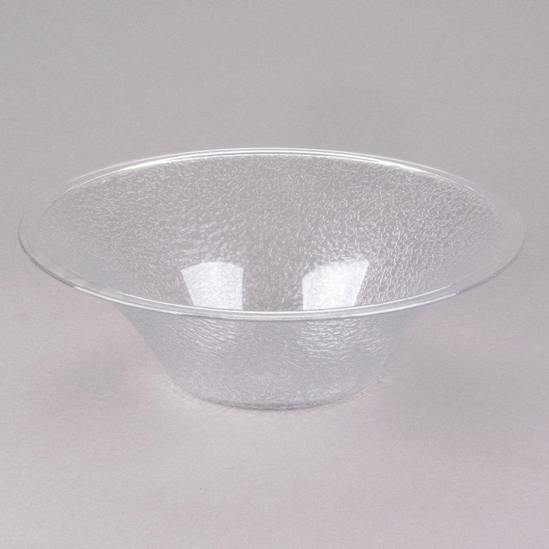 """POLYCARBONATE BELL-SHAPED PEBBLED BOWL CAP:2 Lt, DIA:25 Cm,"" - Mabrook Hotel Supplies"