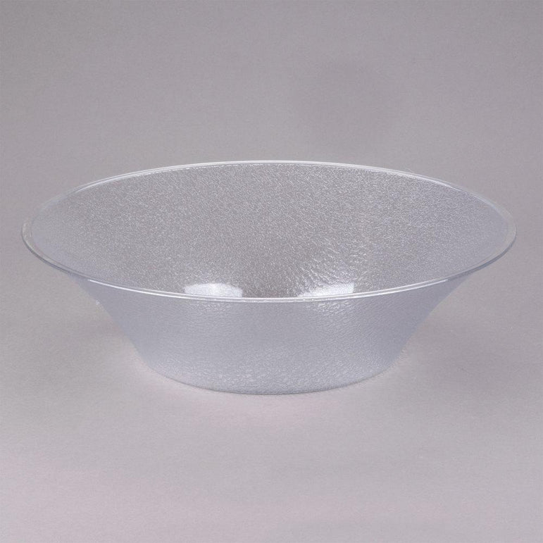 """POLYCARBONATE BELL-SHAPED PEBBLED BOWL CAP:11.8 Lt, DIA:45.7"""