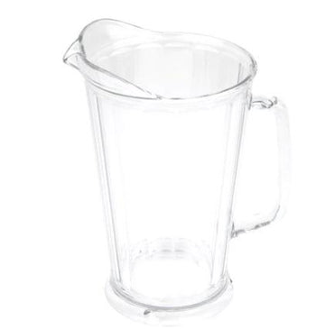 """POLYCARBONATE PITCHER, CAP:1.9 Lt, WITHOUT COVER, HEIGHT:23."" - Mabrook Hotel Supplies"