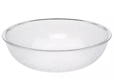 """POLYCARBONATE PEBBLED BOWL CAP:19.1 Lt, DIA:45.7 Cm, COLOR:P"" - Mabrook Hotel Supplies"