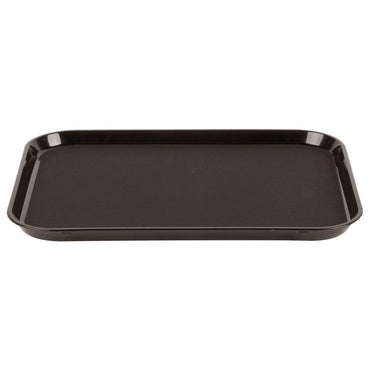 """POLYTREAD RECTANGULAR NON-SLIP TRAY, SIZE:36 COLOR: REC-BROW"""