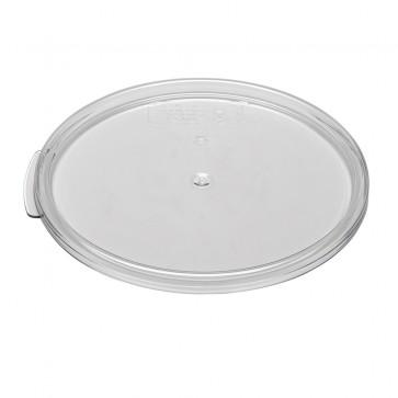 Cambro, Polycarbonate Cover Fit for 6 qt & 8 qt Food Storage Round Container