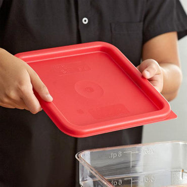 Cover Fit for 6qt & 8qt Food Storage Square Container