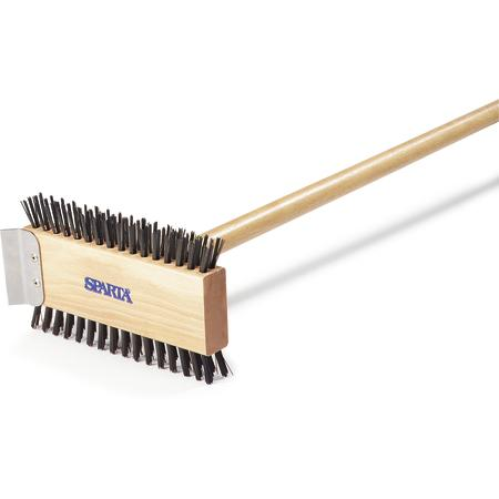"""SPARTA BROILER MASTER BRUSH, 30-1/2""L,"" - Mabrook Hotel Supplies"